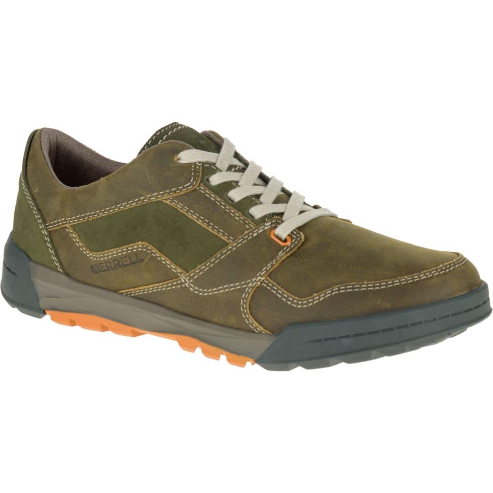 MERRELL Men's Berner Lace Up Sneaker, Dusty Olive - DUSTY OLIVE