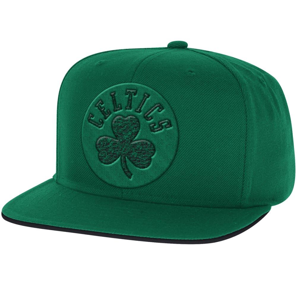 ADIDAS Men's Boston Celtics Tonal Snapback Cap - GREEN