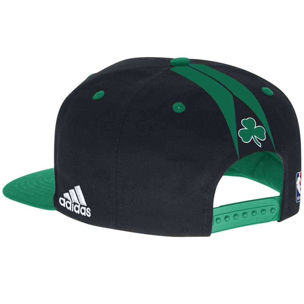 ADIDAS Men's Boston Celtics NBA Draft Day Snapback Cap - BLACK