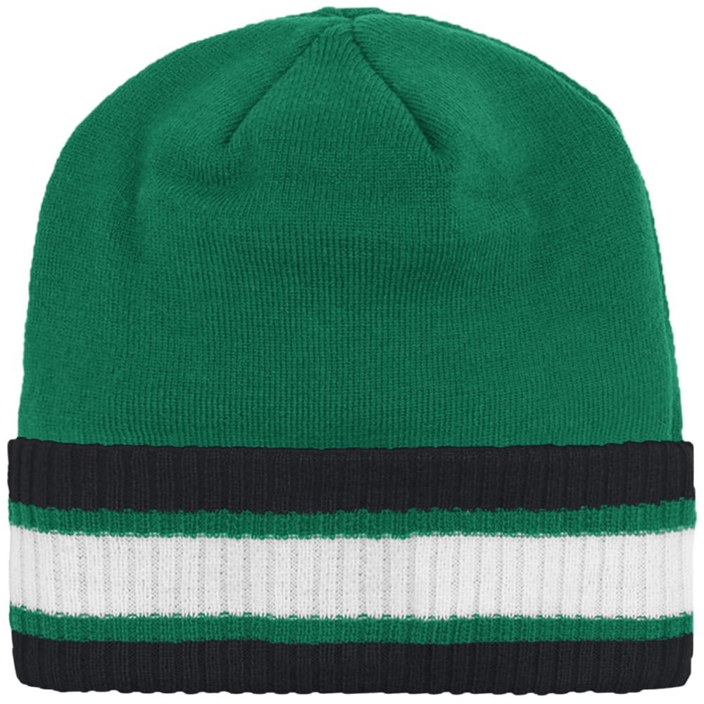 ADIDAS Boston Celtics Captains Knit Beanie - GREEN/BLACK/WHITE