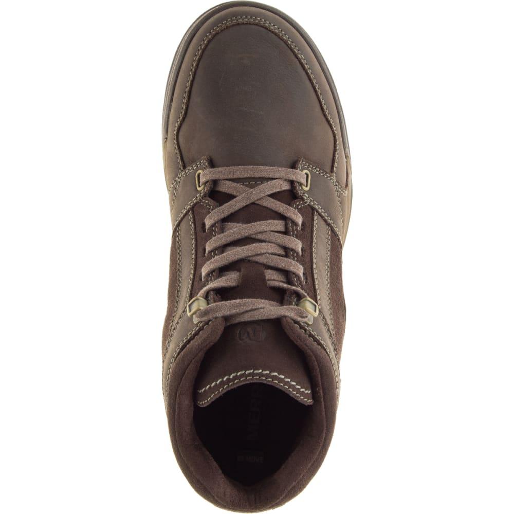 MERRELL Men's Berner Mid Waterproof Sneaker, Espresso - ESPRESSO