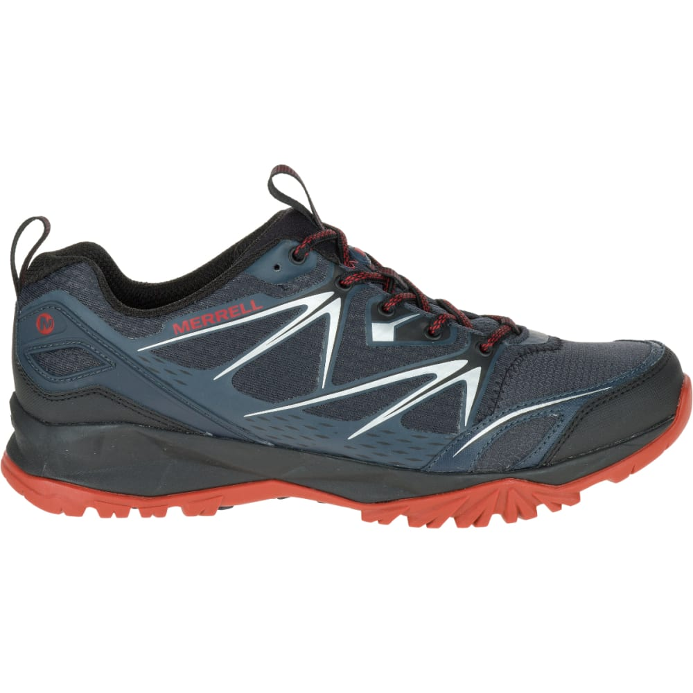 MERRELL Men's Capra Bolt Hiking Shoes, Black/Navy - BLACK/NAVY
