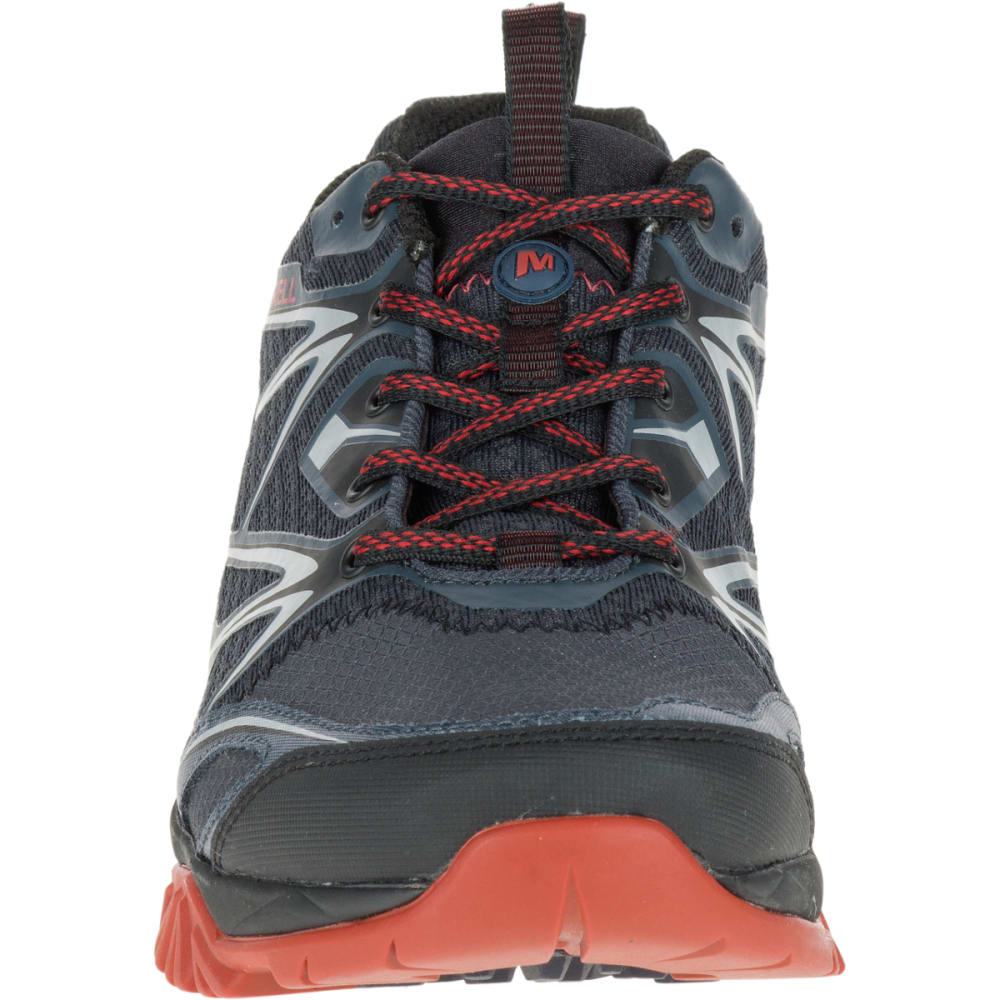 MERRELL Men's Capra Bolt Hiking Shoes, Black/Navy - BLACK/NAVY