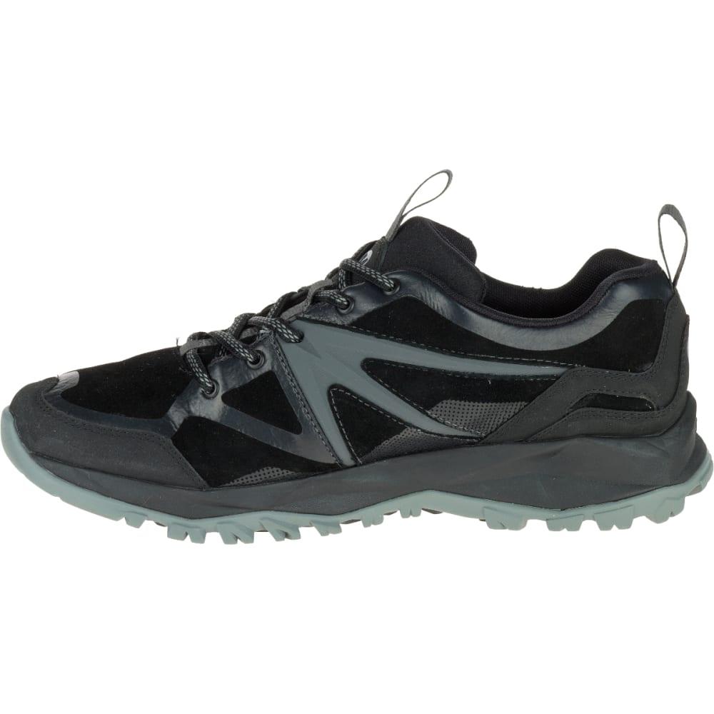 MERRELL Men's Capra Bolt Leather Waterproof Hiking Shoes, Black - BLACK