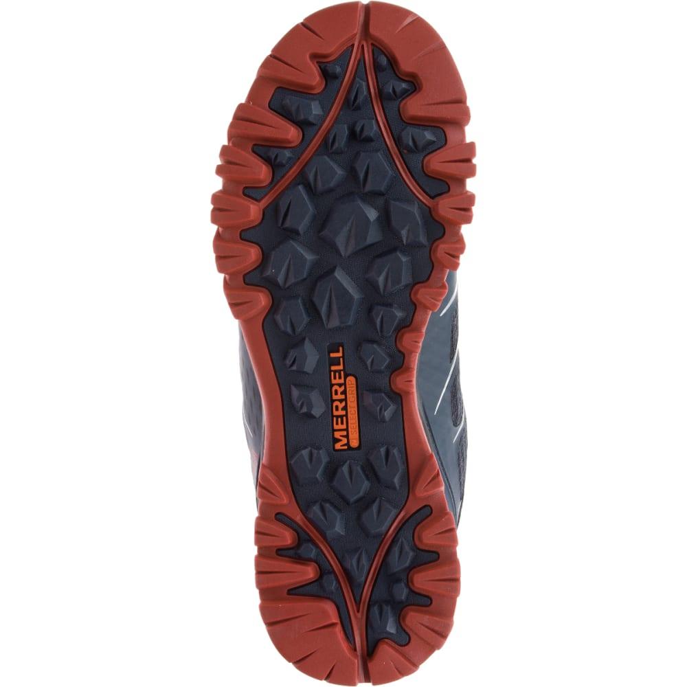 MERRELL Men's Capra Bolt Mid Waterproof Hiking Shoes, Black/Navy - BLACK/NAVY