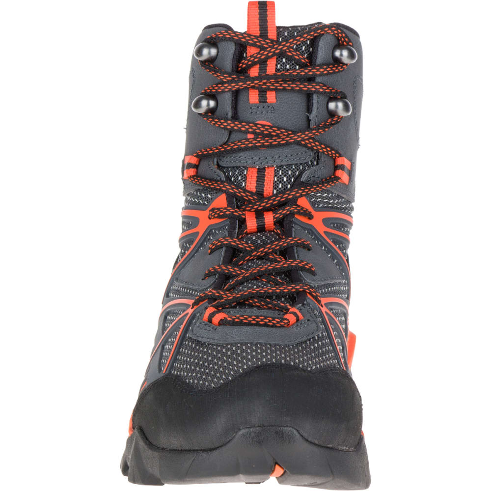 MERRELL Men's Capra Venture Mid Gore-Tex® Surround™ Hiking Boots, Granite - GRANITE
