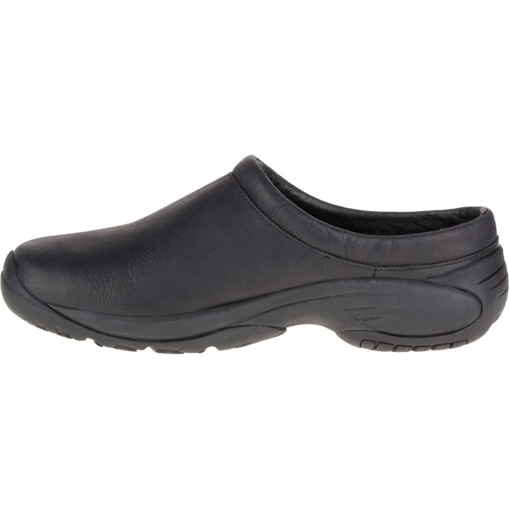MERRELL Men's Encore Chill Smooth Slide, Black - BLACK