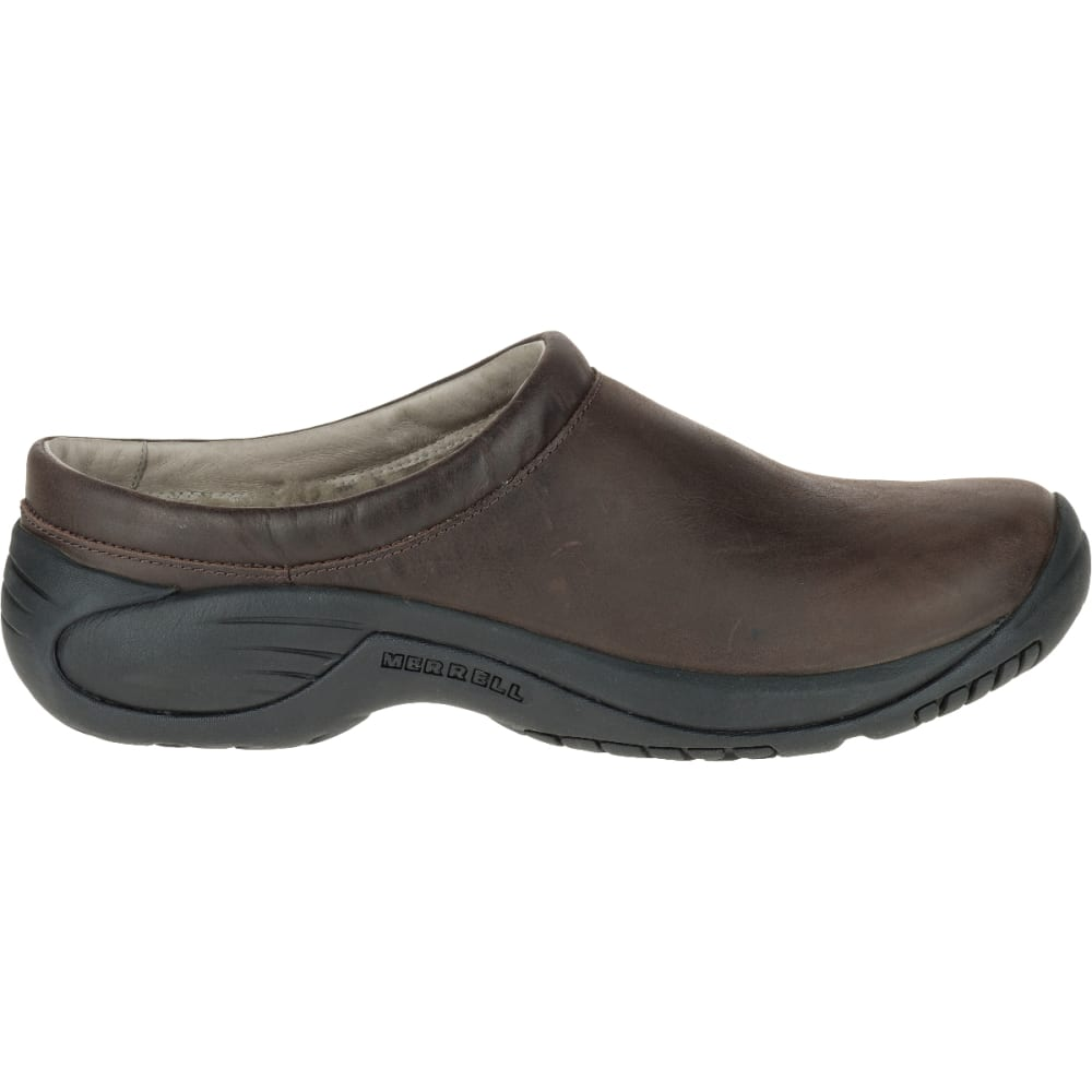 MERRELL Men's Encore Chill Smooth Slide, Espresso - ESPRESSO