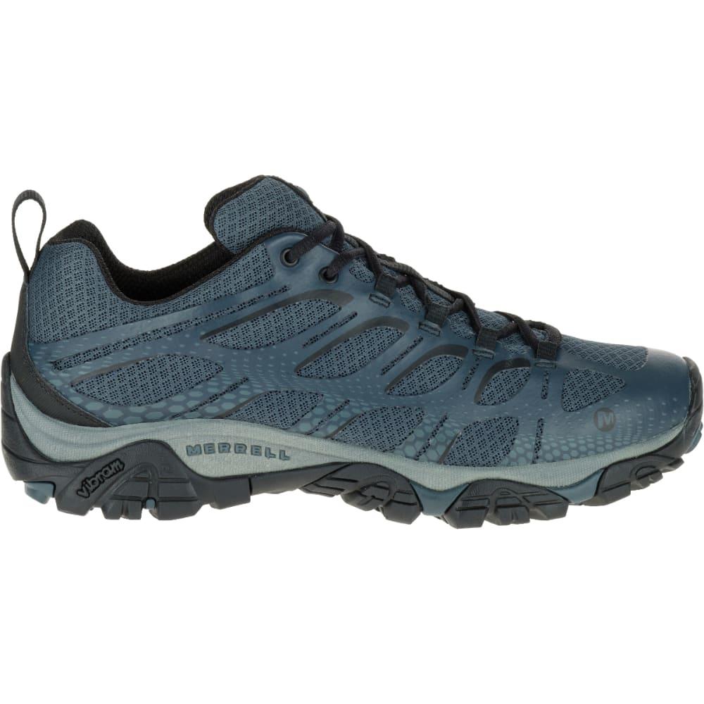 MERRELL Men's Moab Edge Sneaker, Dark Slate - DARK SLATE