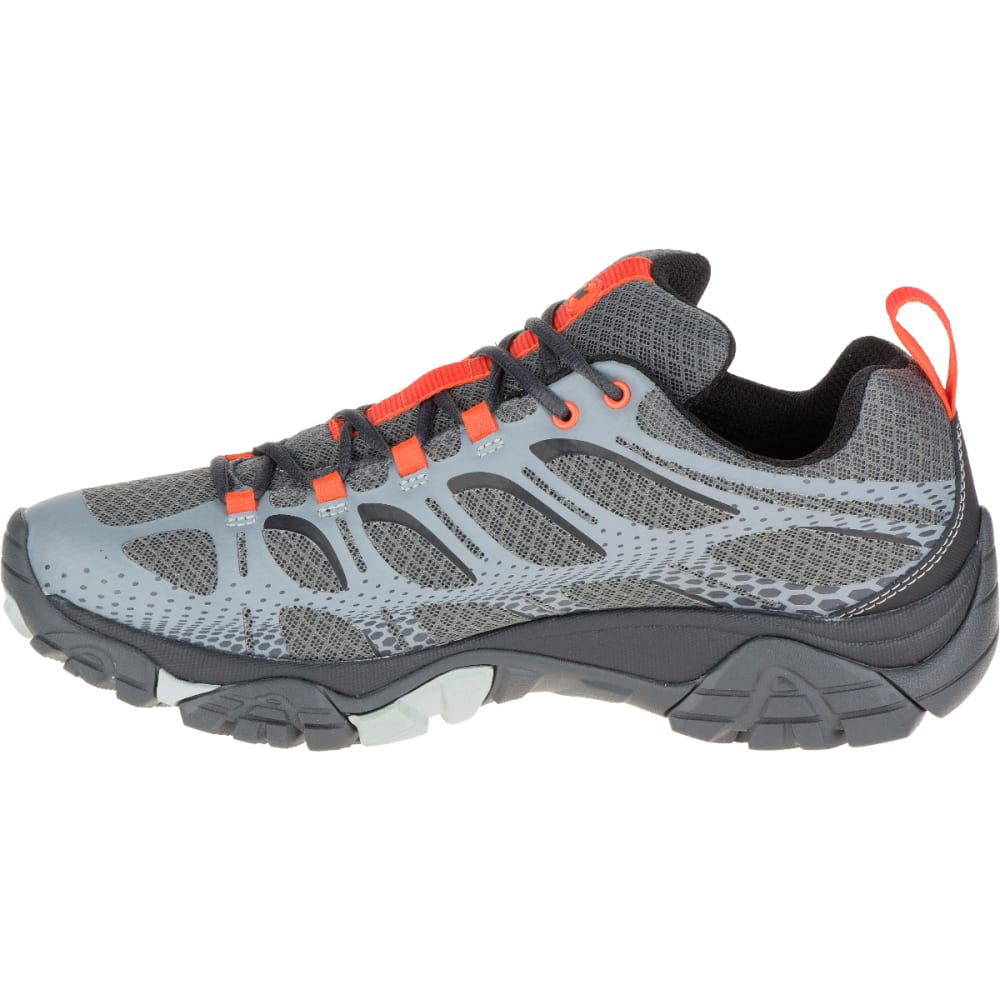 MERRELL Men's Moab Edge Waterproof Sneaker, Grey - GREY