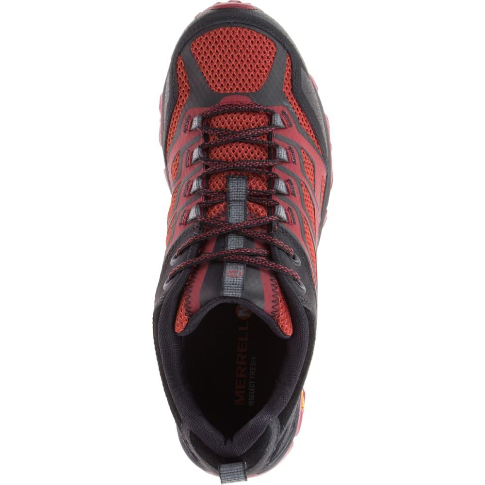 MERRELL Men's Moab FST Sneaker, Burgundy/Black - BURGUNDY/BLK