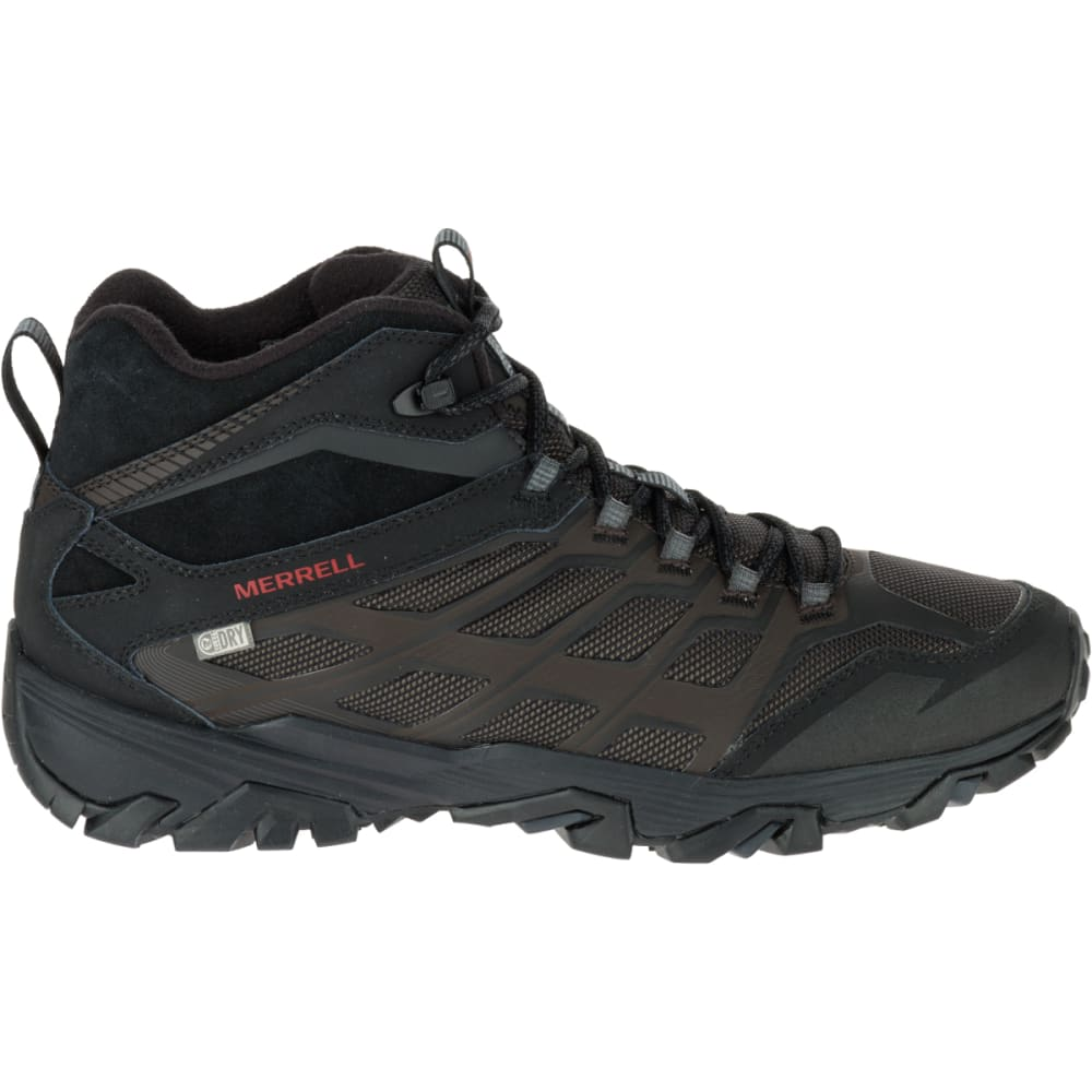 MERRELL Men's Moab FST Ice + Thermo Boots, Black - BLACK