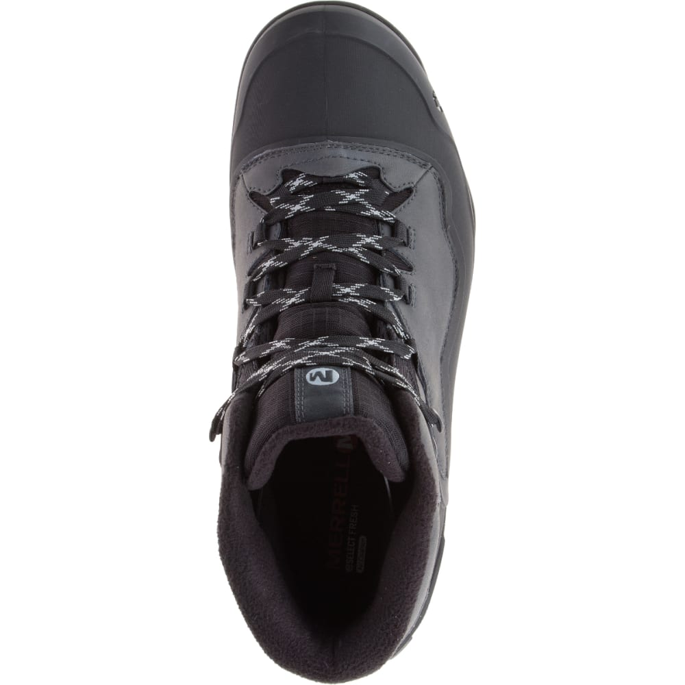 MERRELL Men's Overlook 6 Ice+ Waterproof Boots, Granite - GRANITE