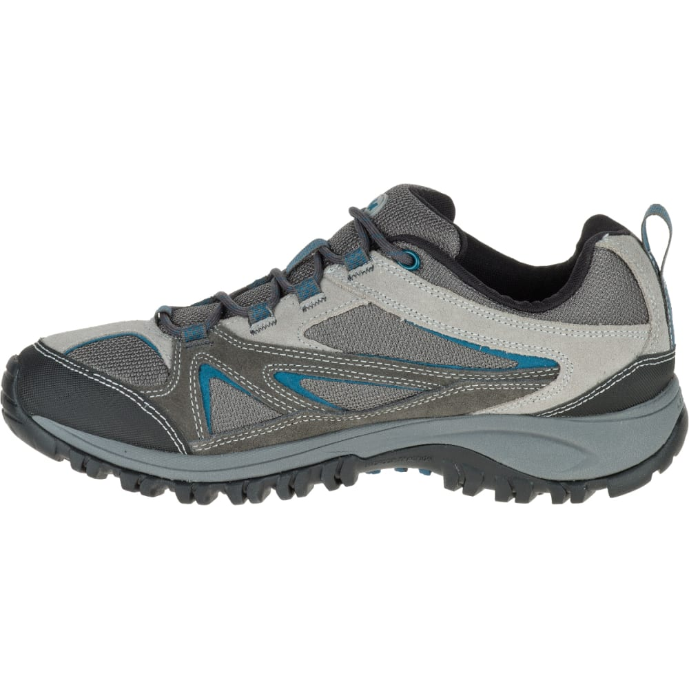MERRELL Men's Phoenix Bluff Hiking Shoe, Grey, Wide - GREY