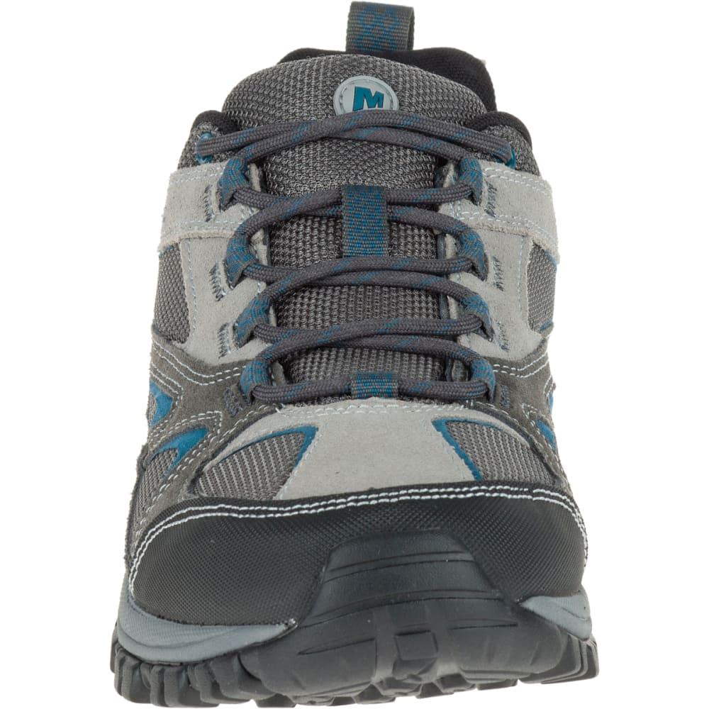 MERRELL Men's Phoenix Bluff Hiking Shoe, Grey, Wide - GREY