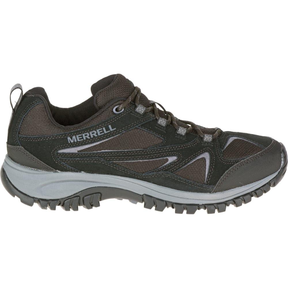 MERRELL Men's Phoenix Bluff Hiking Shoe, Black, Wide - BLACK