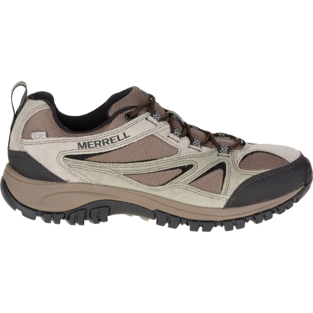 MERRELL Men's Phoenix Bluff Waterproof Hiking Shoe, Putty, Wide - PUTTY