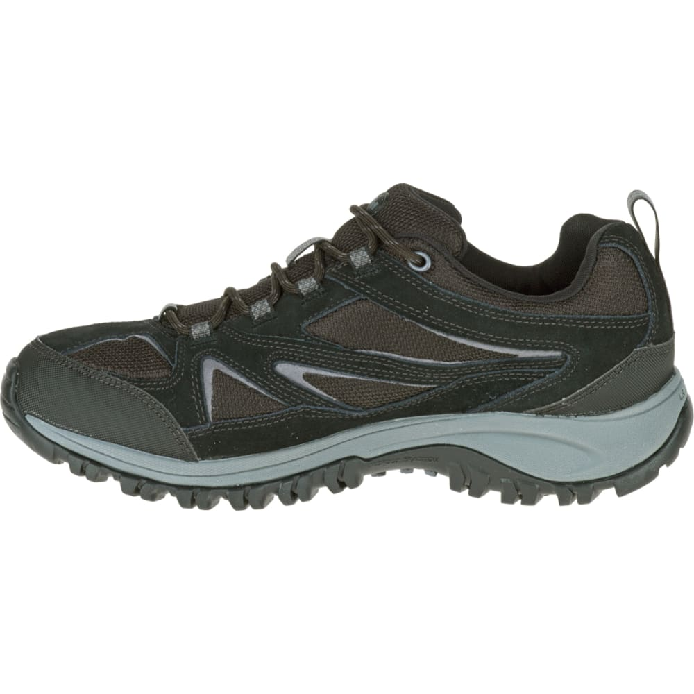 MERRELL Men's Phoenix Bluff Waterproof Hiking Shoe, Black - BLACK