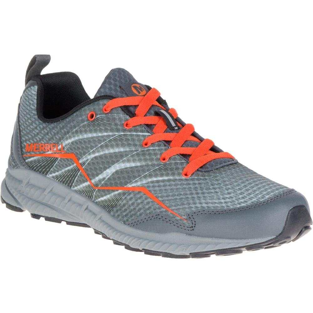 MERRELL Men's Trail Crusher Running Shoe, Grey - GREY
