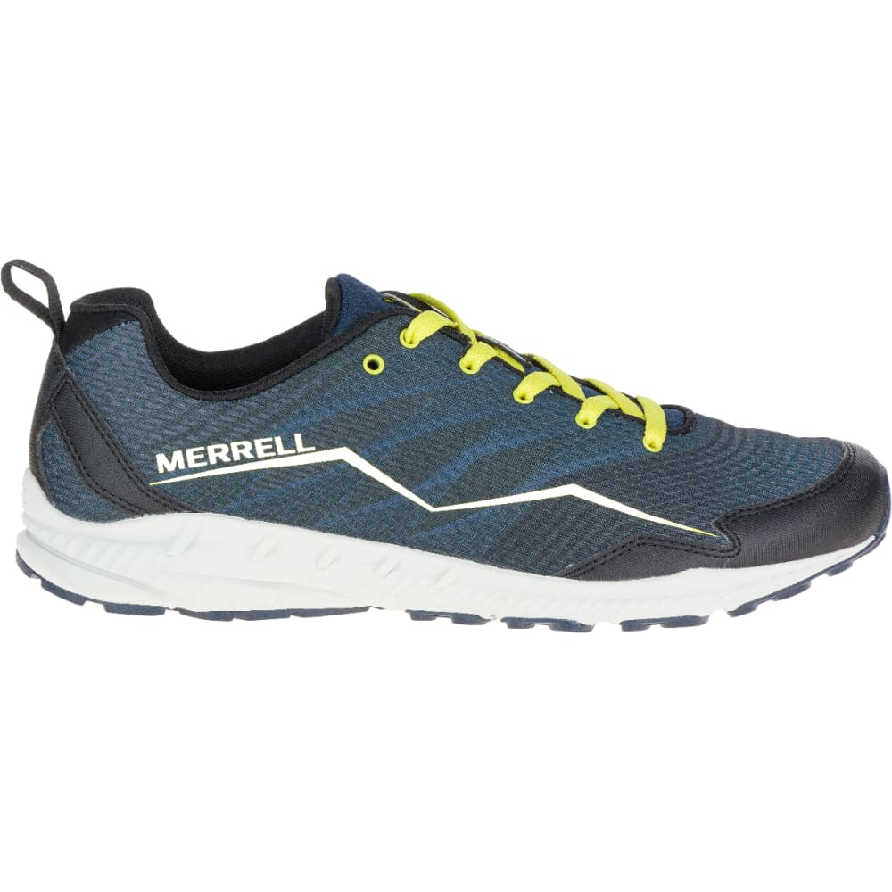 MERRELL Men's Trail Crusher Trail Running Shoes, Green Sheen - GREEN SHEEN