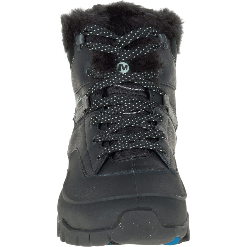 MERRELL Women's Aurora 6 Ice+ Waterproof Boots, Black - BLACK