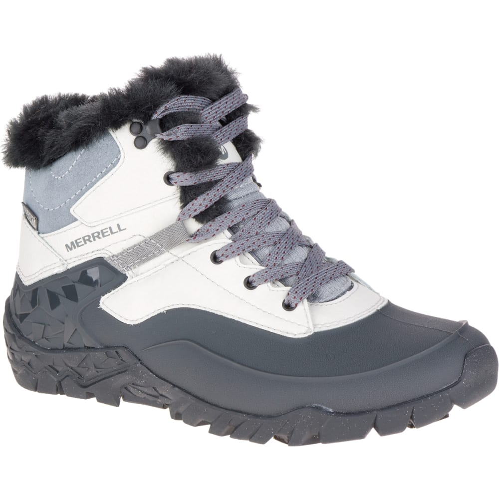 MERRELL Women's Aurora 6 Ice+ Waterproof Boots, Ash - ASH