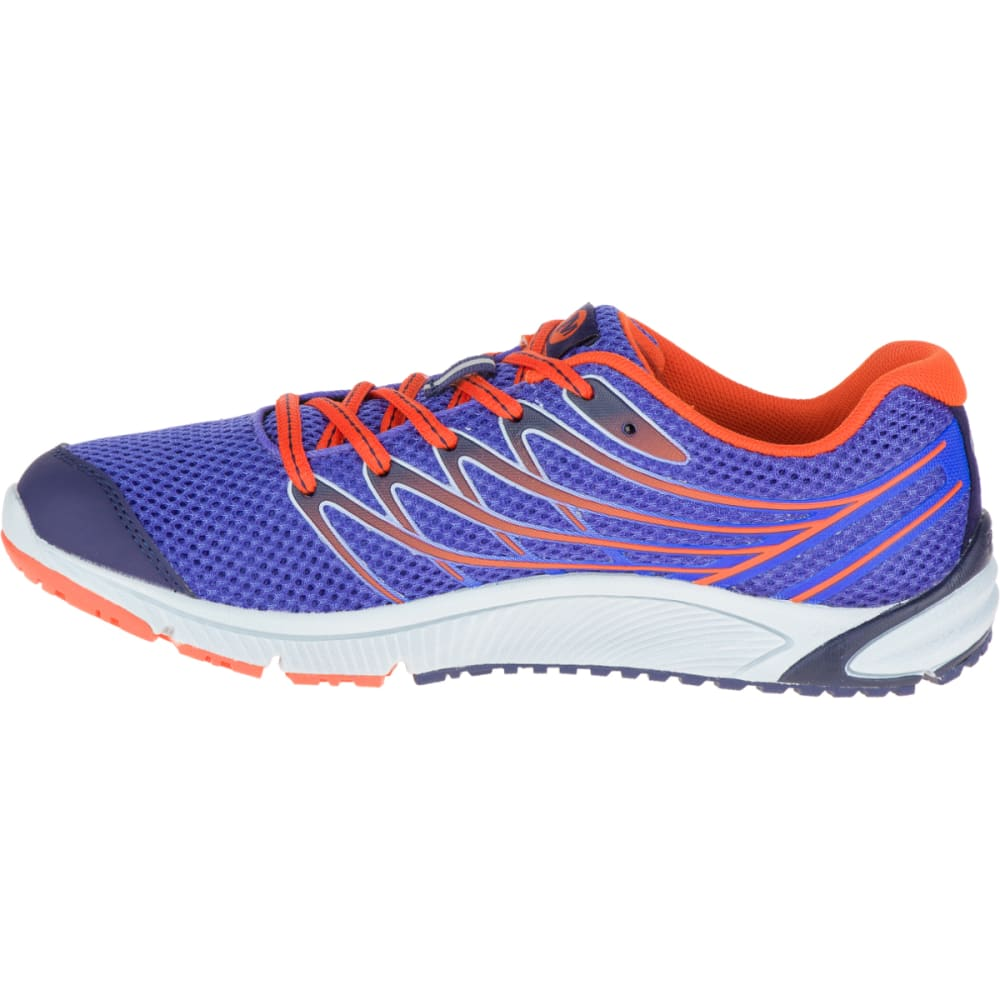MERRELL Women's Bare Access Arc 4 Running Shoe, Violet Storm - VIOLET STORM