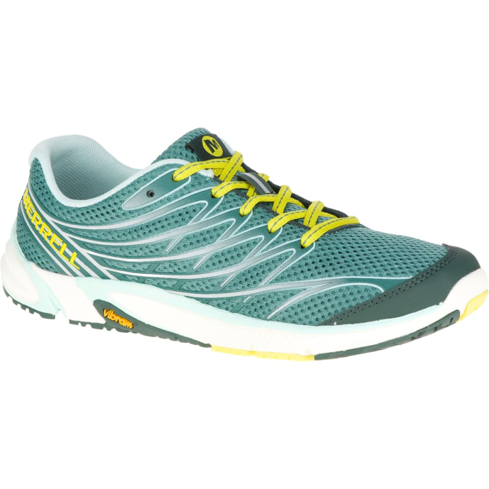 MERRELL Women's Bare Access Arc 4 Running Shoe, Sagebush Green - SAGEBRUSH GREEN