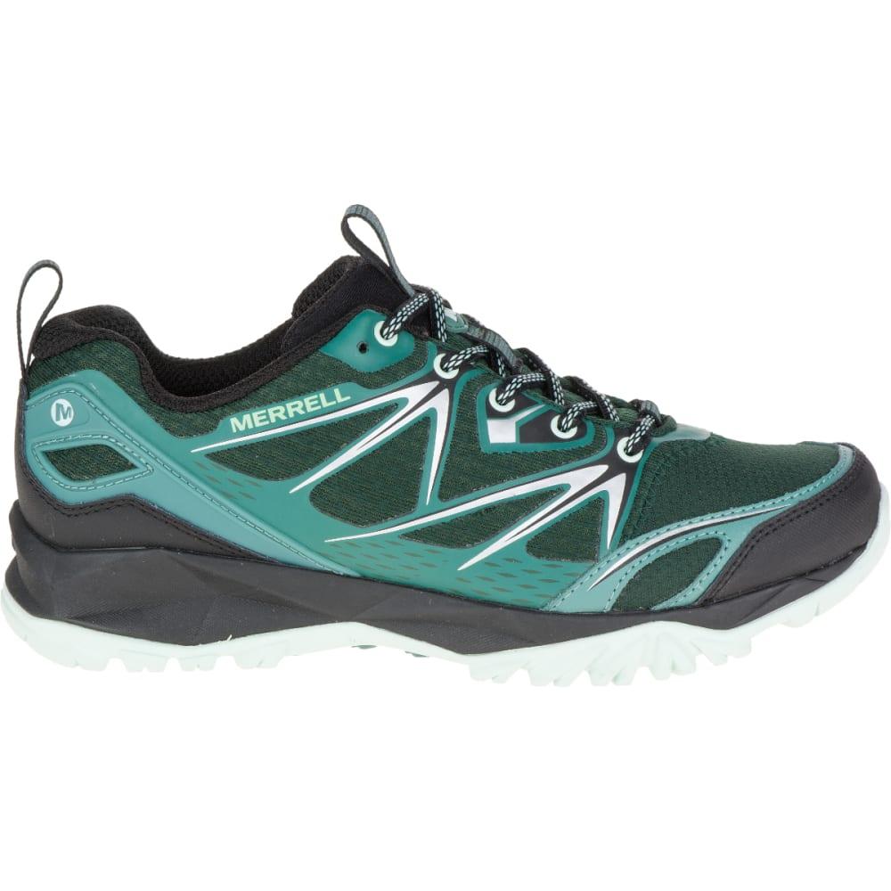MERRELL Women's Capra Bolt Hiking Shoe, Pine Grove - PINE GROVE