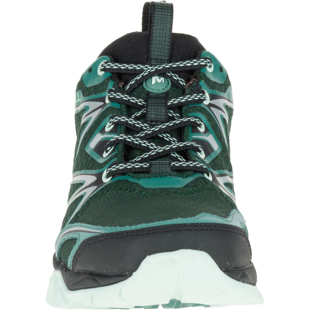 MERRELL Women's Capra Bolt Waterproof Hiking Shoe, Pine Grove - PINE GROVE