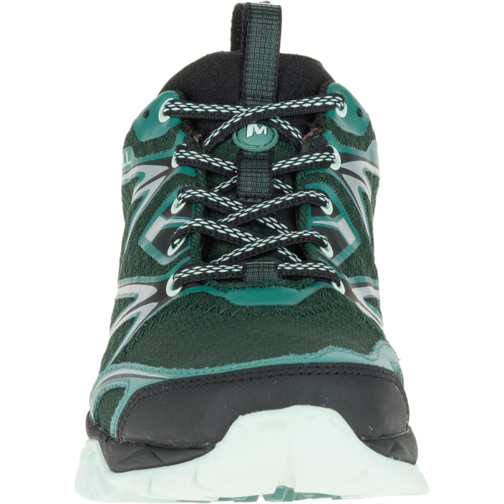 MERRELL Women's Capra Bolt Waterproof Hiking Shoe, Pine Grove - PINE GROVE