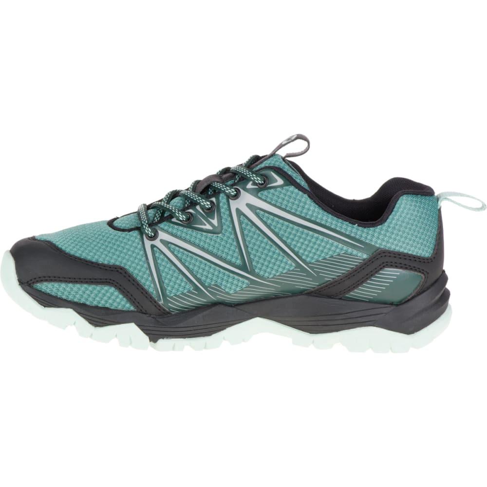 MERRELL Women's Capra Rise Hiking Shoe, Sagebush Green - SAGEBRUSH GREEN