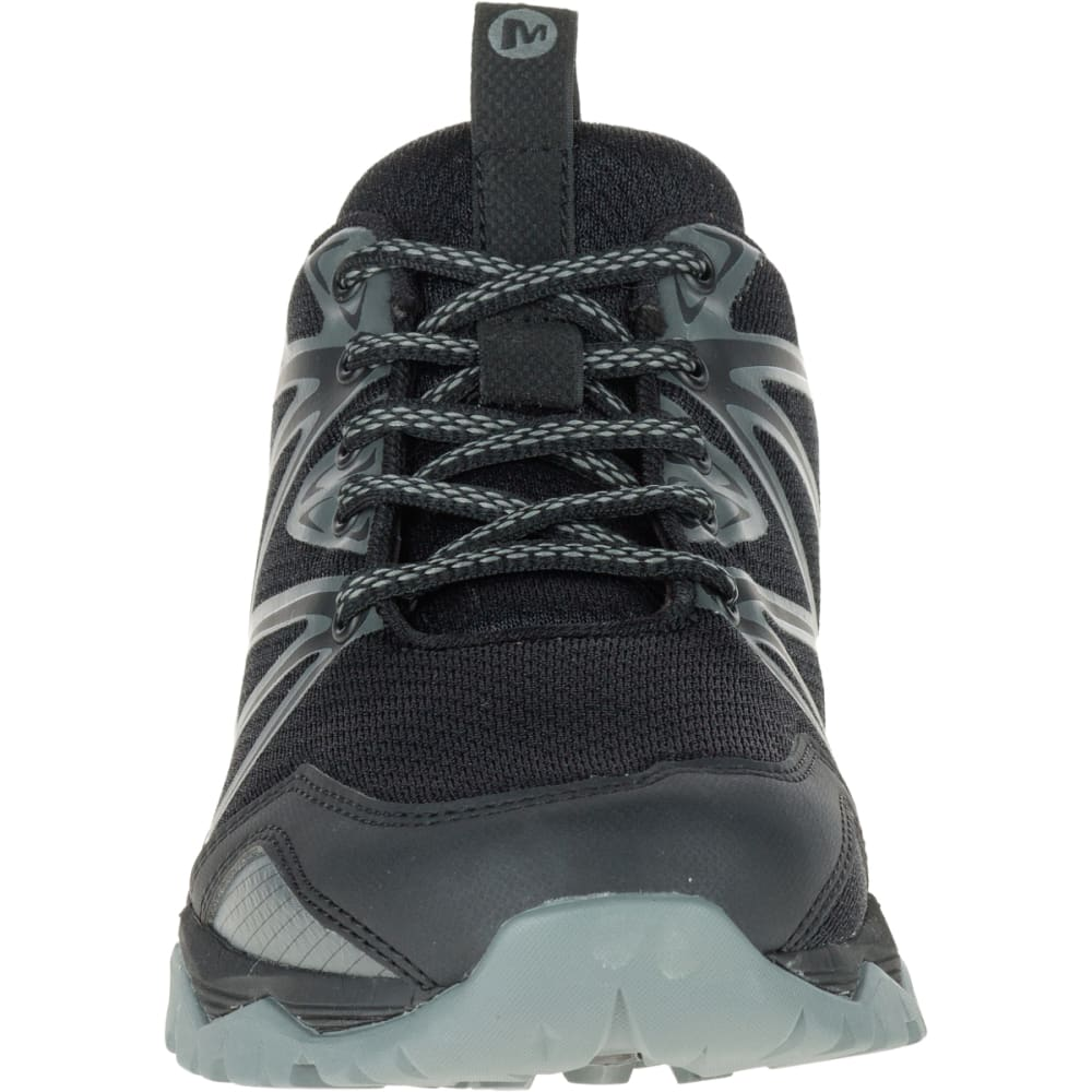 MERRELL Women's Capra Rise Hiking Shoe, Black - BLACK