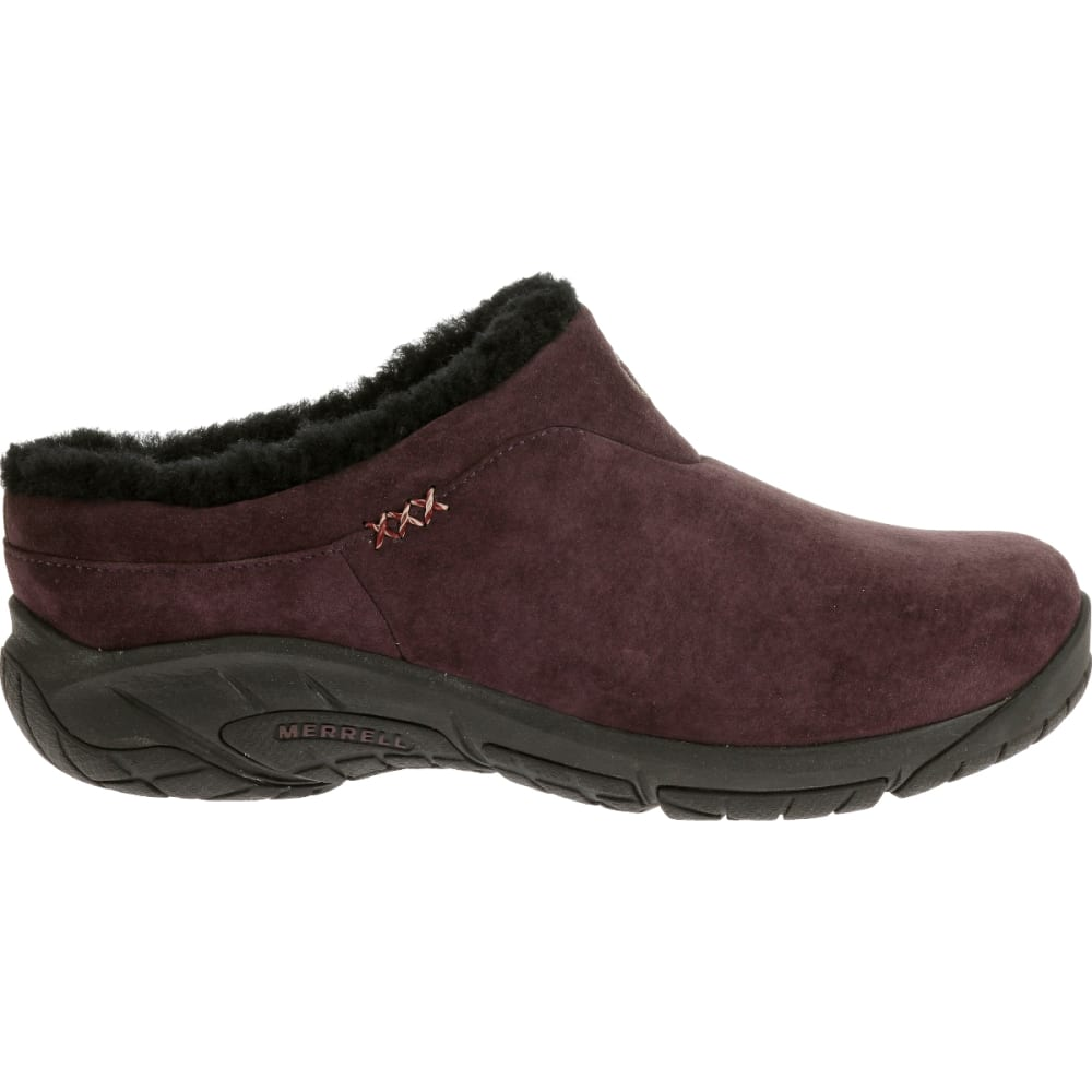 MERRELL Women's Encore Ice Slide, Plum - PLUM
