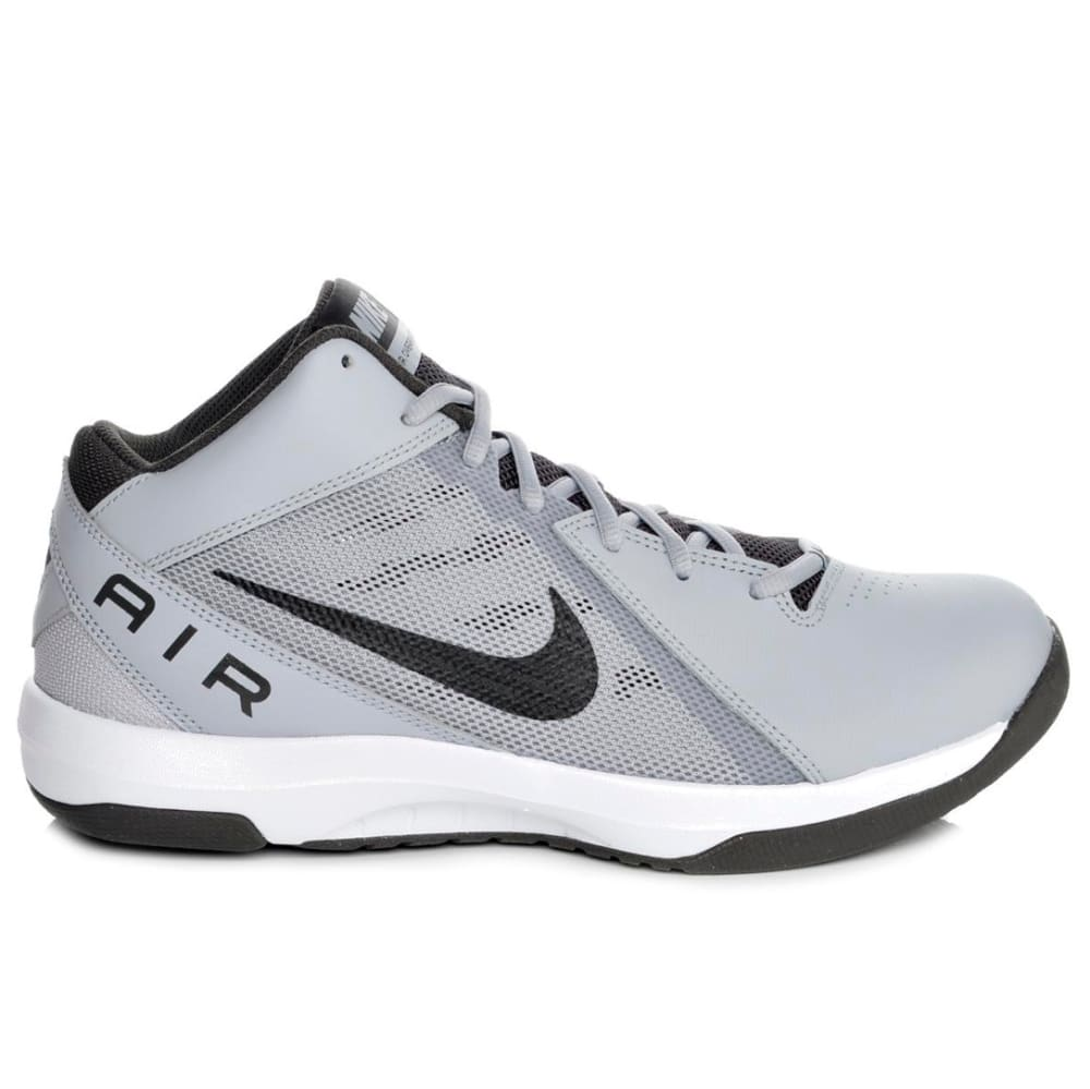 NIKE Men's Air Overplay IX Basketball Shoes - WOLF GREY