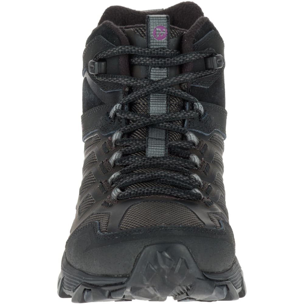 MERRELL Women's Moab FST Ice+ Thermo Boot, Black - BLACK