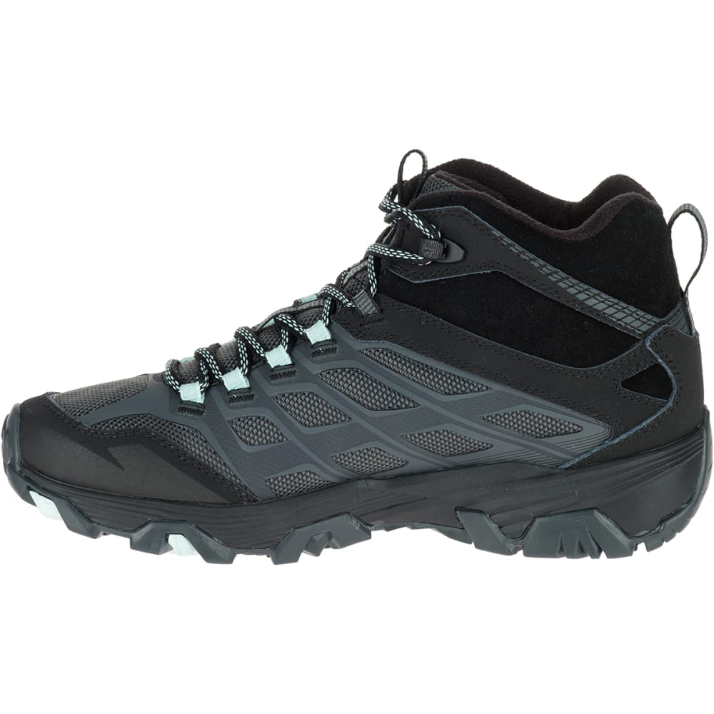 MERRELL Women's Moab FST Ice+ Thermo Boots, Granite - GRANITE
