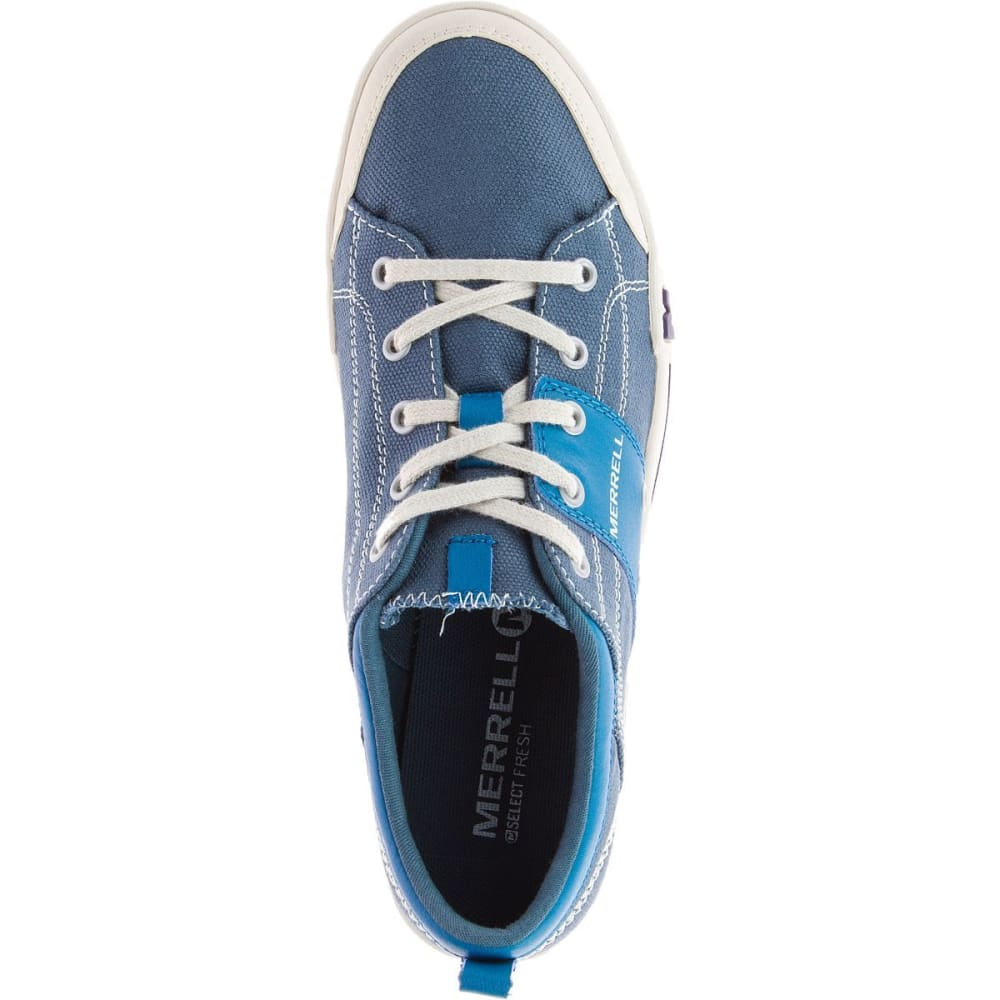 MERRELL Women's Rant Canvas Shoes, Seaport - SEAPORT