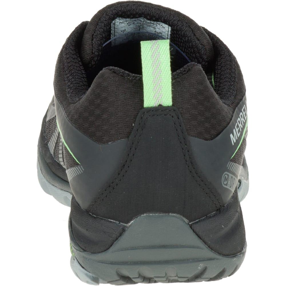 MERRELL Women's Siren Edge Waterproof Sneaker, Black/Paradise - BLACK/PARADISE