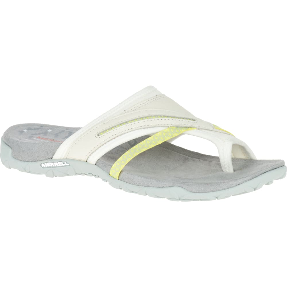 MERRELL Women's Terran Post II Sandals, White - WHITE