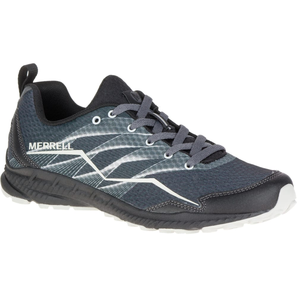 MERRELL Women's Trail Crusher Sneaker, Granite/Black - GRANITE/BLACK
