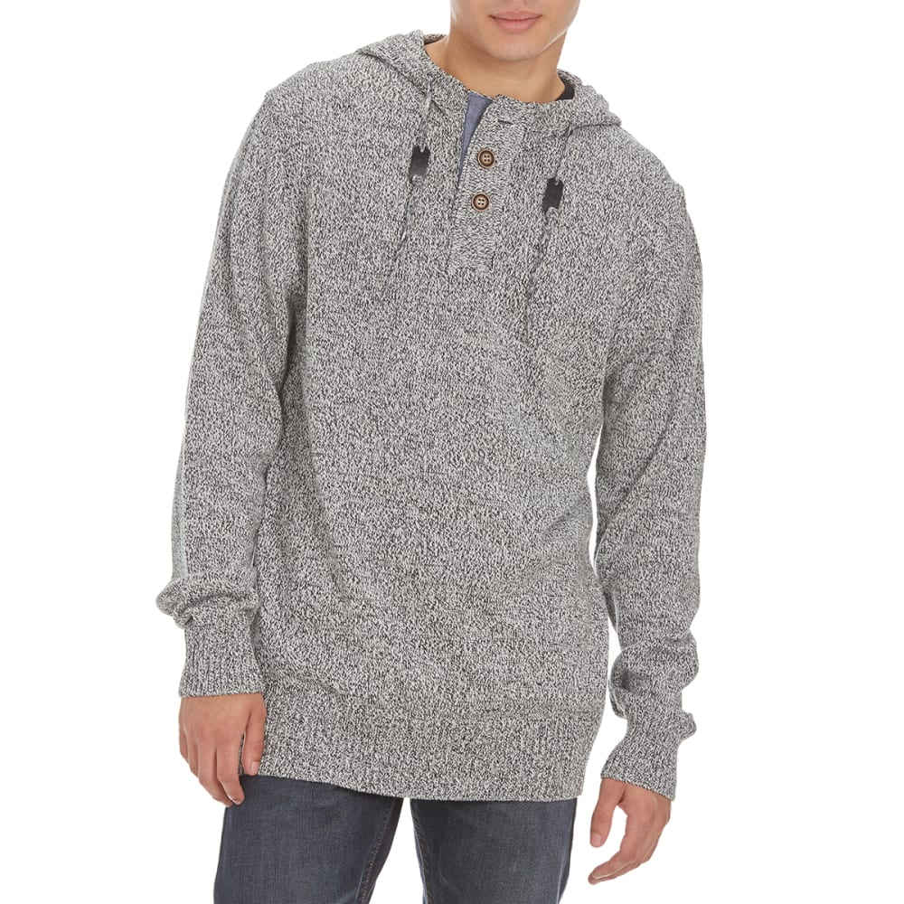 OCEAN CURRENT Guys' Pepper Hooded Sweater - GREY