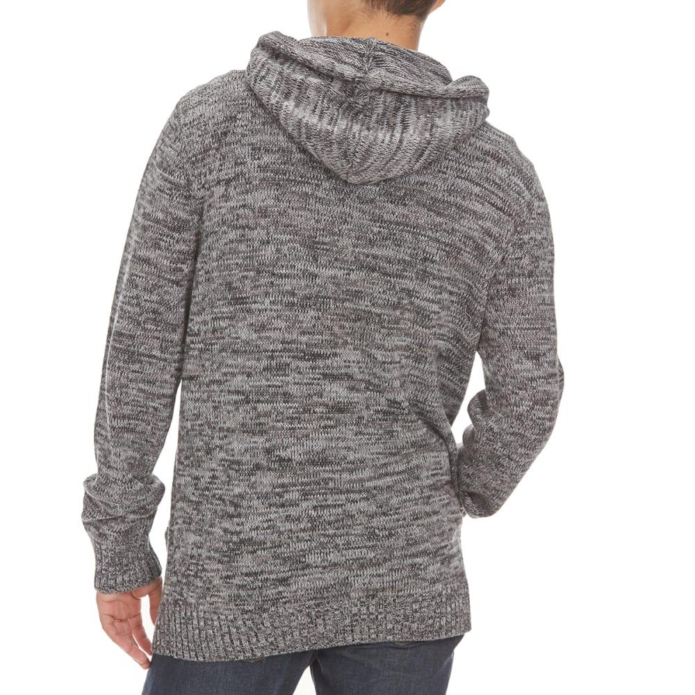 RETROFIT Men's Toggle Hooded Sweater - BLACK