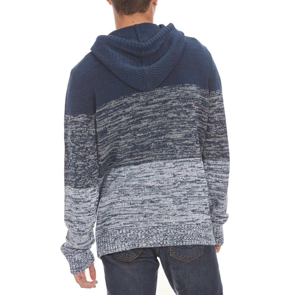 RETROFIT Guys' Stripe Hooded Sweater - BLUE ONYX