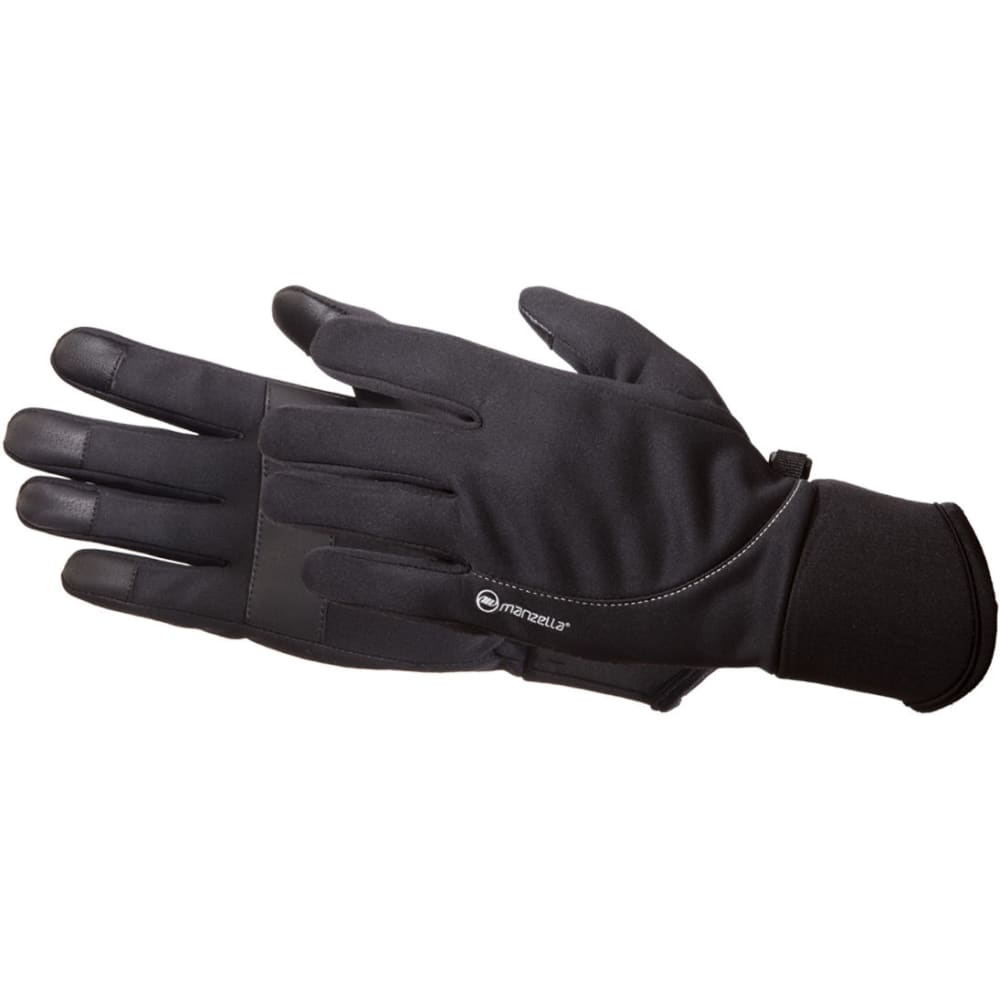 MANZELLA Women's All Elements 2.5 Touch Tip Gloves - BLACK