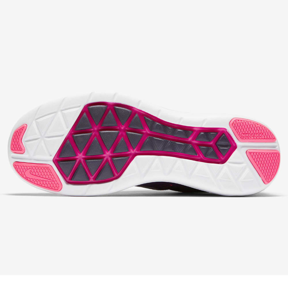 NIKE Women's Flex 2016 RN Running Shoes - PURPLE DYNASTY/F PNK