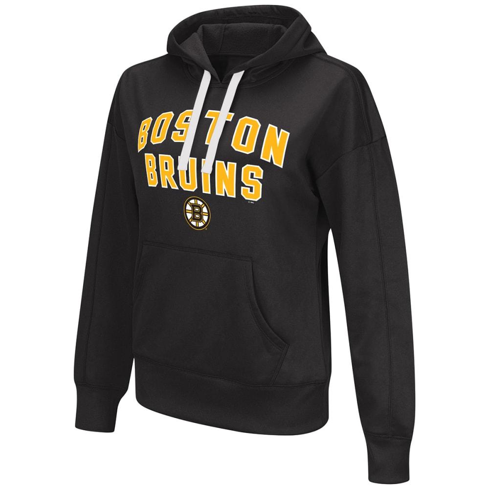 BOSTON BRUINS Women's Pullover Hoodie - BLACK
