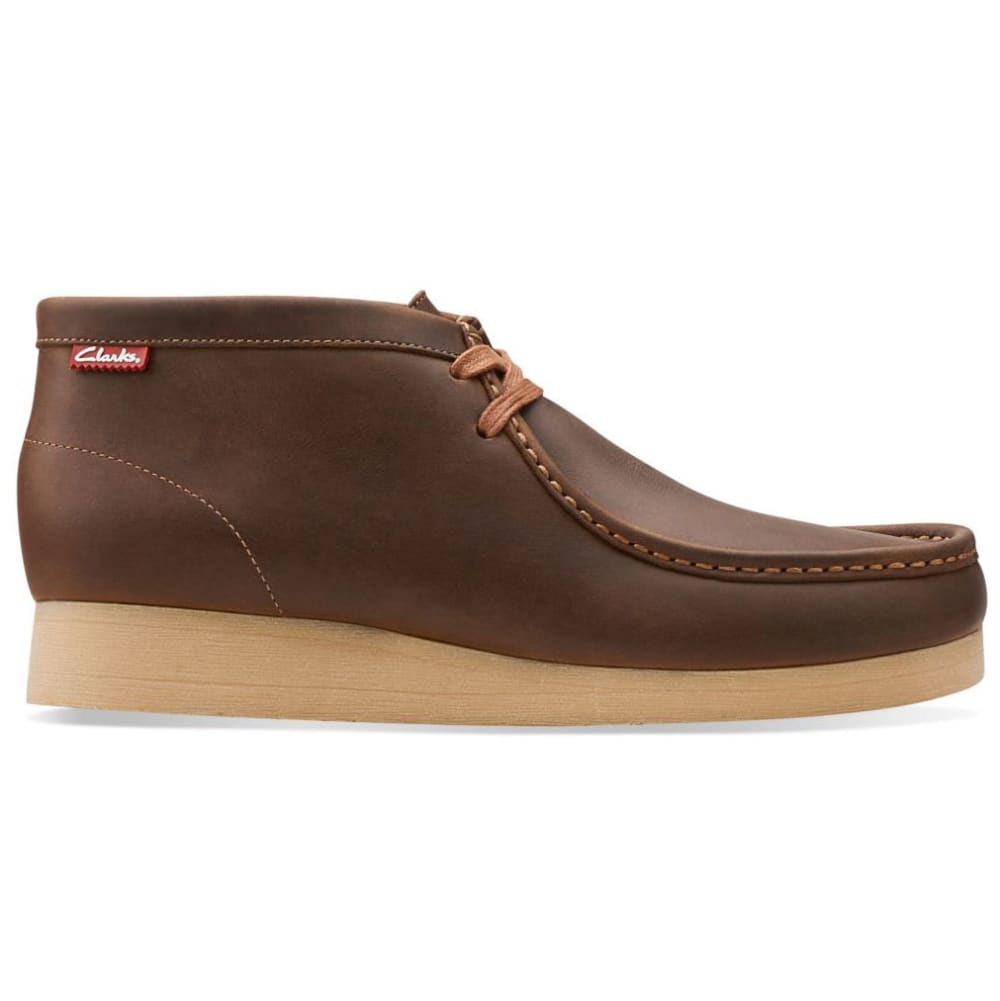 CLARKS Men's Stinson Hi Wallabee Boots - BROWN