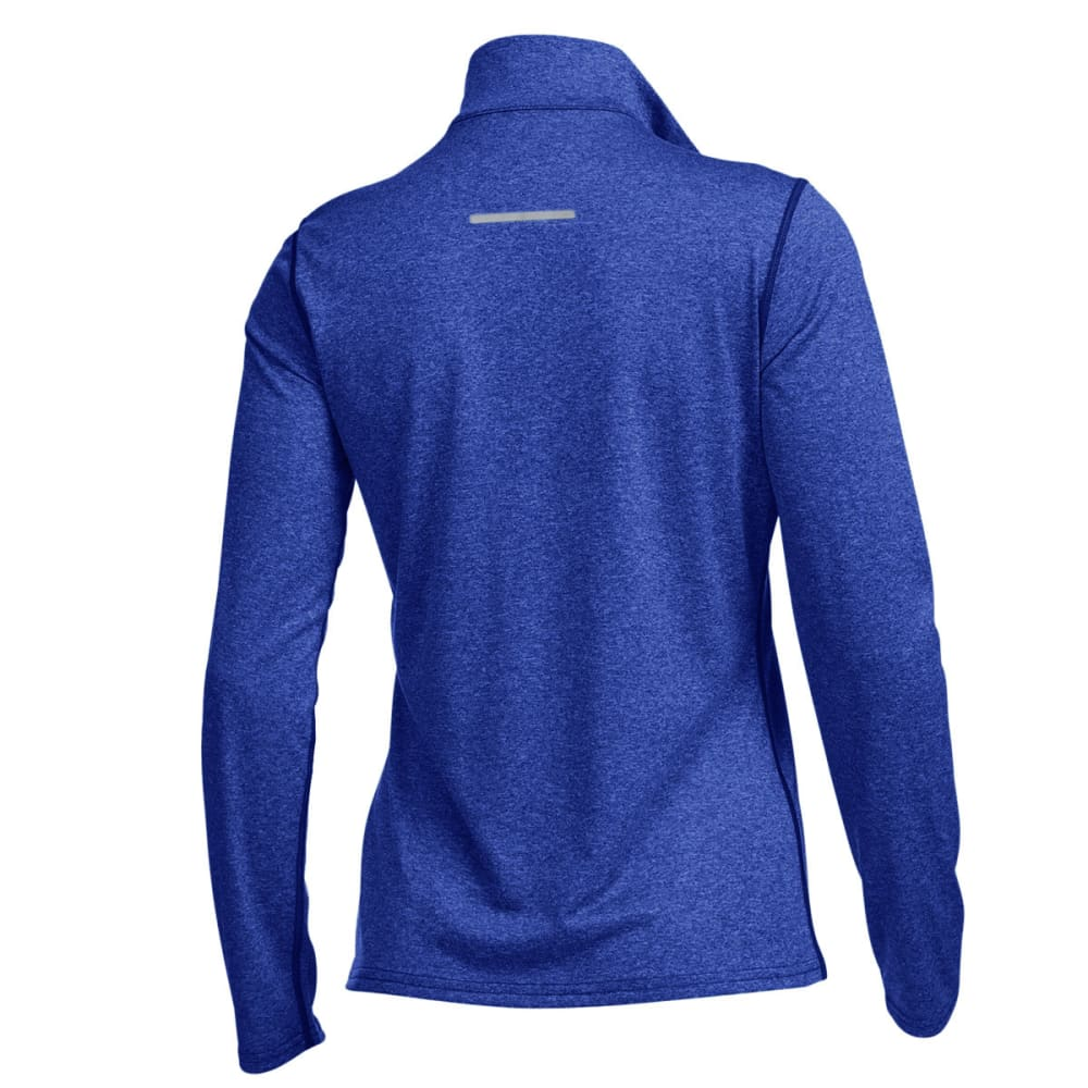 EMS® Women's Techwick® Essence  ¼ Zip Pullover - DAZZLING BLUE HTR