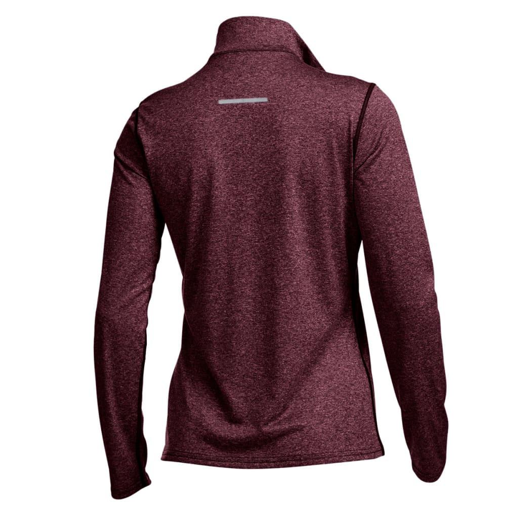 EMS® Women's Techwick® Essence  ¼ Zip Pullover - WINETASTING HTR
